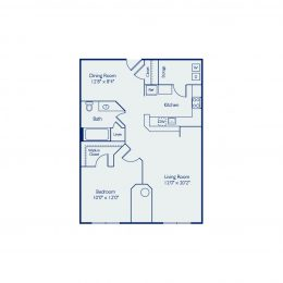 Bell North Shore A1A Floor Plan