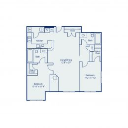 Bell North Shore B2A Floor Plan